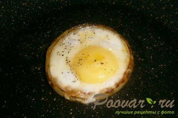 Яйца в луковых кольцах Шаг 6 (картинка)
