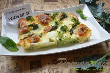 Запеканка из брокколи и сыра моцарелла Изображение
