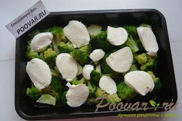 Запеканка из брокколи и сыра моцарелла Шаг 5 (картинка)
