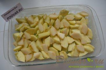 Французский яблочный десерт