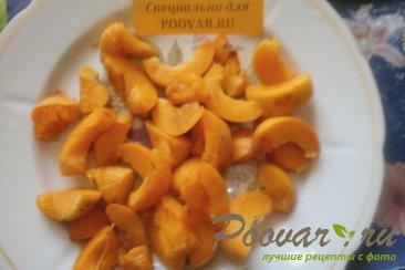 Плюшки с абрикосом и помадкой Шаг 6 (картинка)