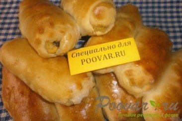 Пирожки - трубочки с грибами и картофелем Изображение