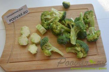Брокколи с овощами Шаг 1 (картинка)