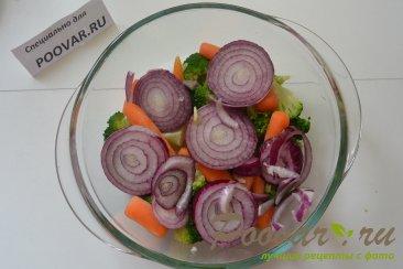 Брокколи с овощами Шаг 4 (картинка)