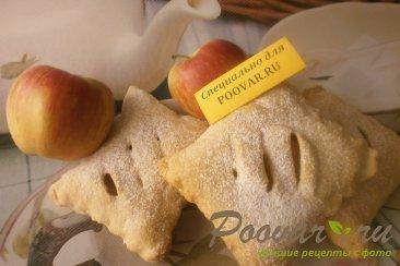 Слоечки из слоёного теста с яблоками Шаг 14 (картинка)
