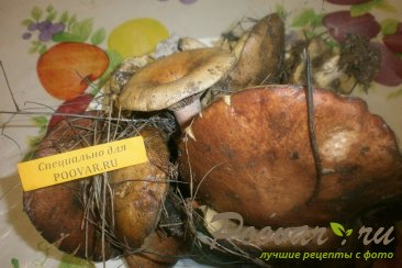 Маринование грибов Шаг 1 (картинка)