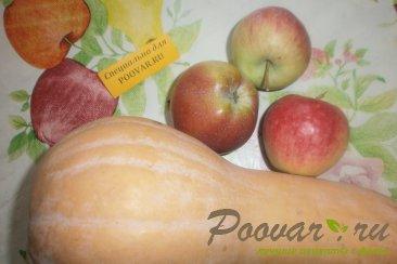 Тыква с яблоком и изюмом Шаг 1 (картинка)