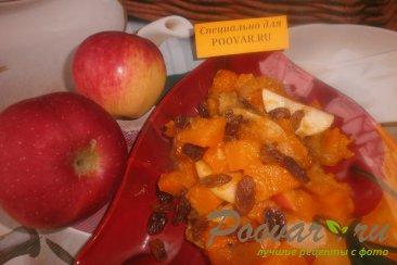 Тыква с яблоком и изюмом Шаг 9 (картинка)