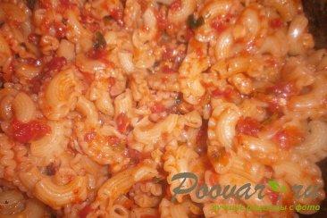 Паста с томатно - чесночным соусом и сыром Шаг 5 (картинка)