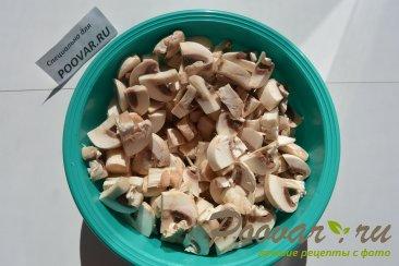 Запеканка с курицей и грибами Шаг 1 (картинка)
