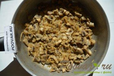 Запеканка с курицей и грибами Шаг 4 (картинка)