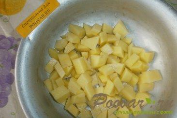 Суп с пшеном и баклажанами Шаг 1 (картинка)