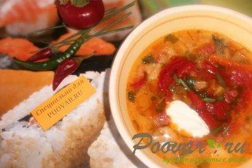 Суп с пшеном и баклажанами Шаг 12 (картинка)