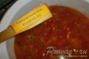Суп с пшеном и баклажанами Шаг 10 (картинка)