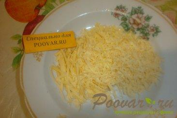 Булочка - цветок с перцем, помидорами и сыром Шаг 6 (картинка)