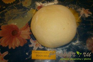 Булочка - цветок с перцем, помидорами и сыром Шаг 7 (картинка)