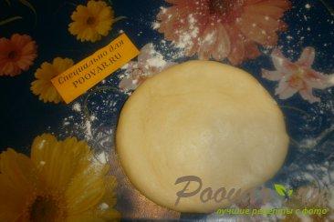 Булочка - цветок с перцем, помидорами и сыром Шаг 9 (картинка)