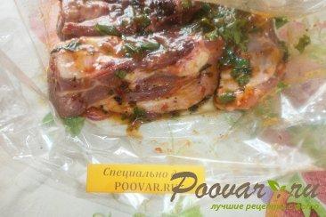 Свиные рёбрышки в медово-абрикосовом соусе Шаг 5 (картинка)