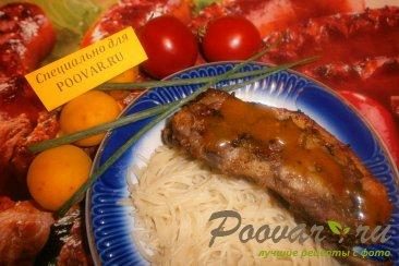 Свиные рёбрышки в медово-абрикосовом соусе Шаг 10 (картинка)