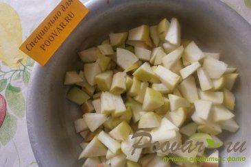Пирог с тыквой и яблоками Шаг 2 (картинка)