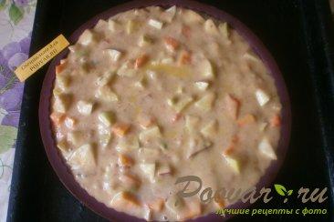 Пирог с тыквой и яблоками Шаг 9 (картинка)