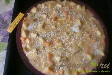 Пирог с тыквой и яблоками Шаг 10 (картинка)