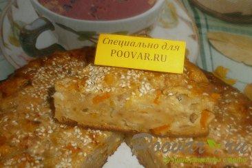Пирог с тыквой и яблоками Шаг 13 (картинка)