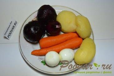 Селедка под шубой классический рецепт Шаг 1 (картинка)