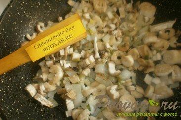 Фаршированные шампиньоны запечённые в духовке Шаг 7 (картинка)