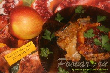 Куриные бёдра с яблоками Изображение