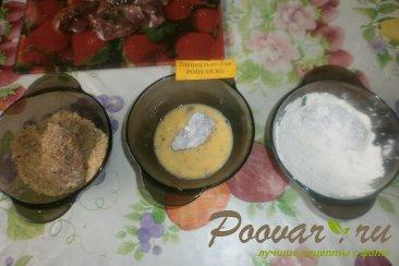 Куриная печень в сухарях Шаг 6 (картинка)