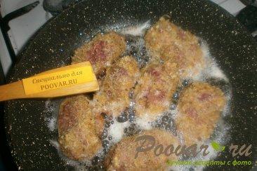 Куриная печень в сухарях Шаг 7 (картинка)