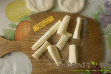 Жареные пирожки с сыром сулугуни Шаг 5 (картинка)
