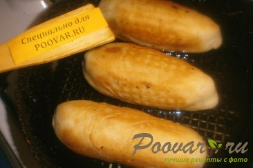 Жареные пирожки с сыром сулугуни Шаг 9 (картинка)