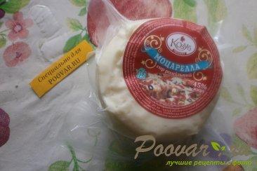 Салат из морской капусты и моцареллы Шаг 6 (картинка)