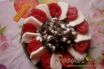 Салат из морской капусты и моцареллы Шаг 8 (картинка)