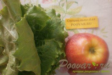 Салат с яблоками Шаг 1 (картинка)