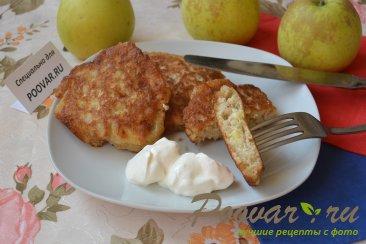 рецепт оладьев из овсяных хлопьев с яблоками