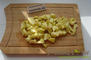 Оладьи из овсянки с яблоками Шаг 6 (картинка)