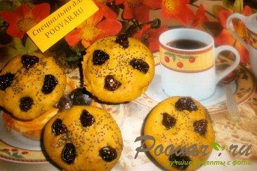 Кексы из тыквы и вишни Изображение