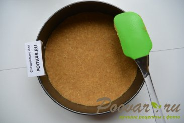 Творожно - смородиновый торт без выпечки Шаг 4 (картинка)