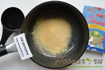 Творожно - смородиновый торт без выпечки Шаг 6 (картинка)