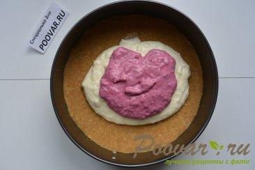 Творожно - смородиновый торт без выпечки Шаг 14 (картинка)