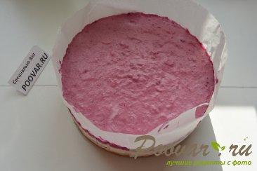 Творожно - смородиновый торт без выпечки Шаг 16 (картинка)