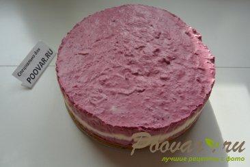 Творожно - смородиновый торт без выпечки Шаг 17 (картинка)