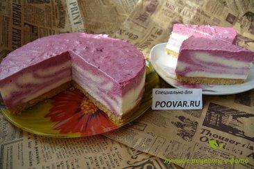 Творожно - смородиновый торт без выпечки Шаг 18 (картинка)