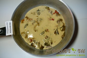 Омлет с замороженными овощами Шаг 10 (картинка)