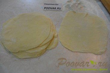 Картофельные слойки с сыром Шаг 8 (картинка)