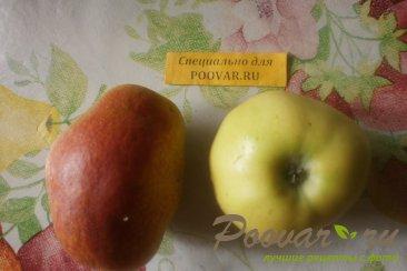 Киш с яблоками и грушами Шаг 4 (картинка)