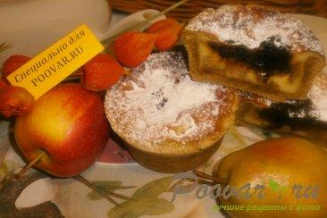 Киш с яблоками и грушами Изображение
